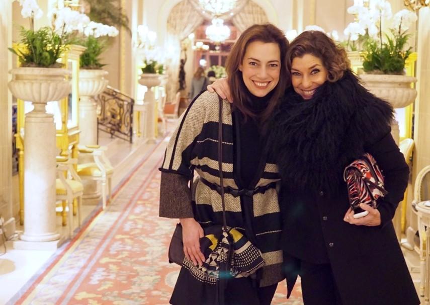 A minha grande amiga, Lucia, veio de Nova Iorque passar o fim de semana comigo!  Que privilégio!