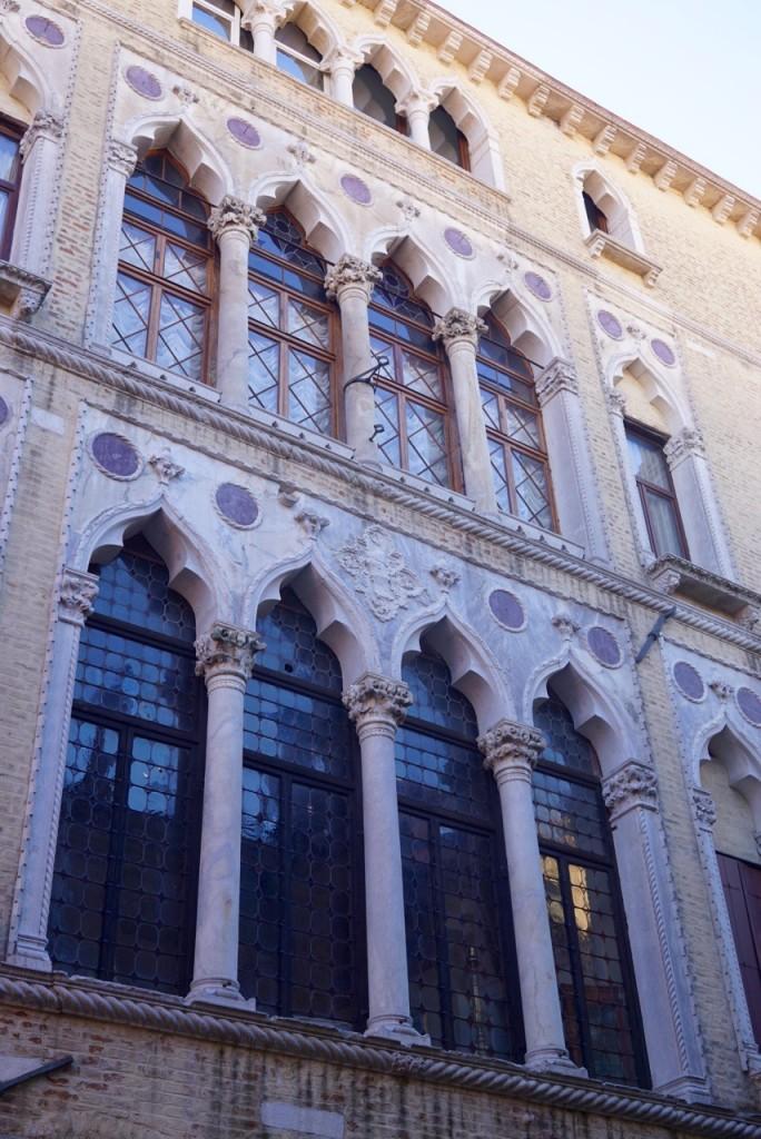 As janelas de influência medio orientais de Veneza...