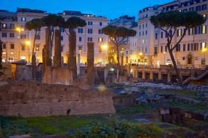 Como tudo na Itália, se tropeça na história!