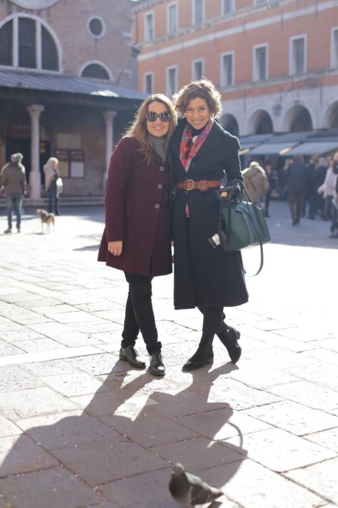 Encontramos com a querida Isa Discacciati do blog Italia per Amore que conhece tudo de Veneza! Inclusive ela dá tours!
