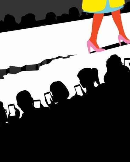 A era digital está matando o desfile?