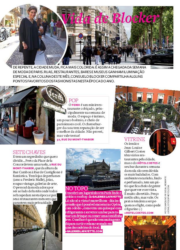 Vida de Blocker- os lugares cool em Paris durante a semana de moda em Paris