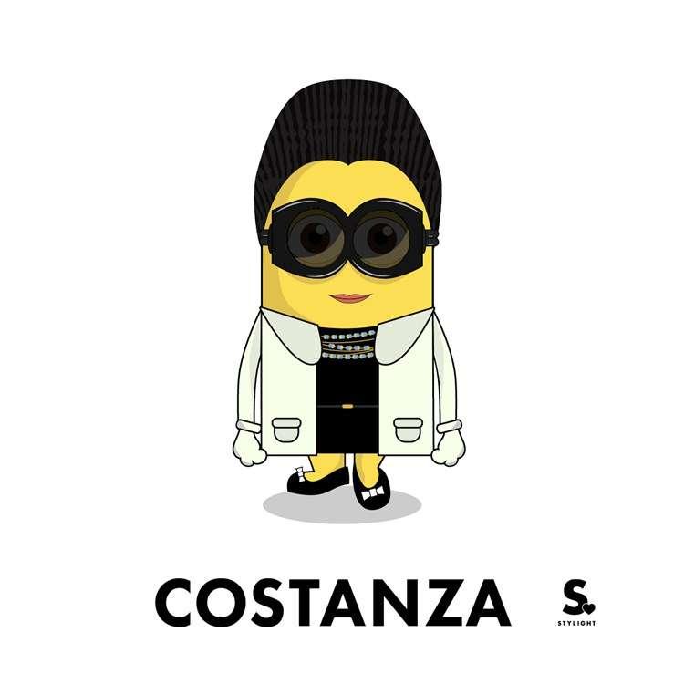 Costanza como Minion pela Stylight