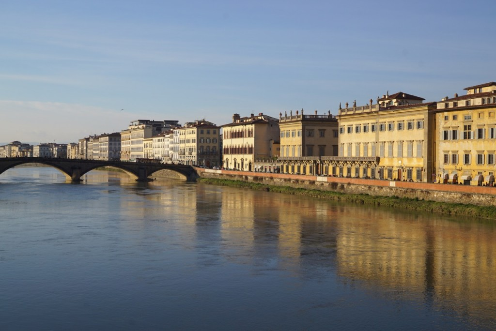 As margens do Rio Arno