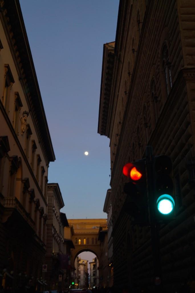 De repente a lua cheia...
