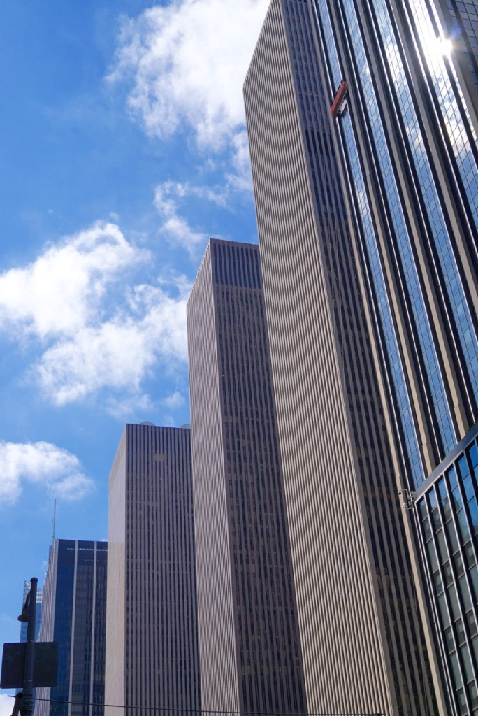 Os famosos Skyscrapers