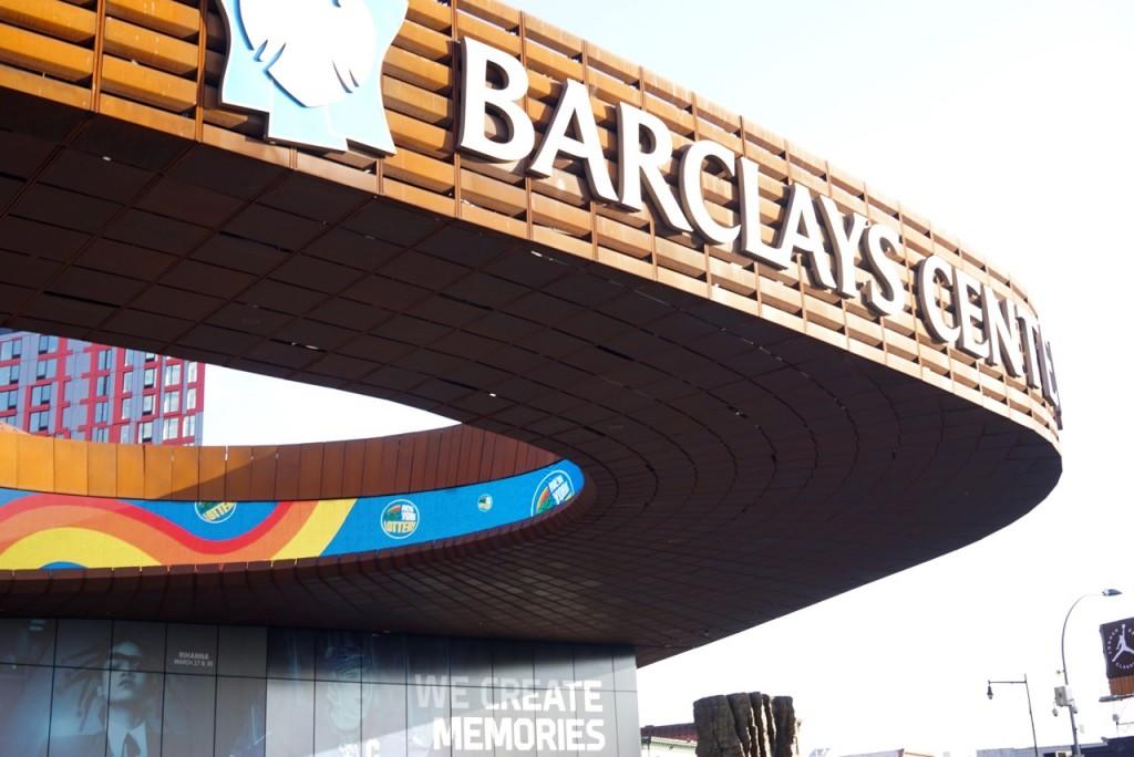 O Barclay Stadium no Brooklyn é muito lindo!