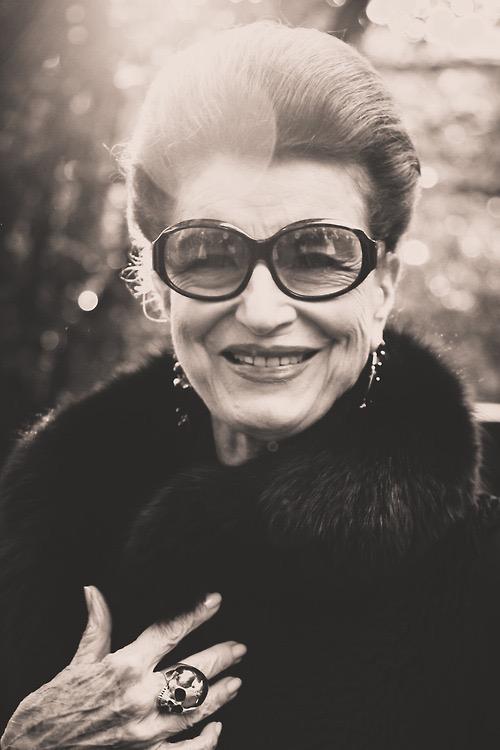 Minha mãe, Costanza Pascolato.