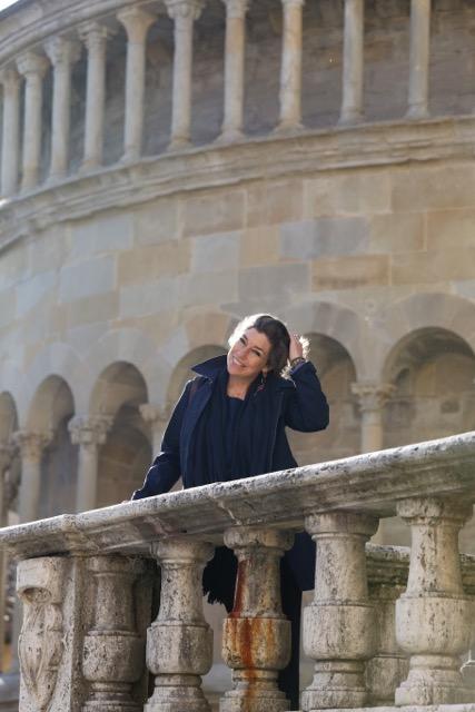 Em Arezzo, foto de Roberto Leone