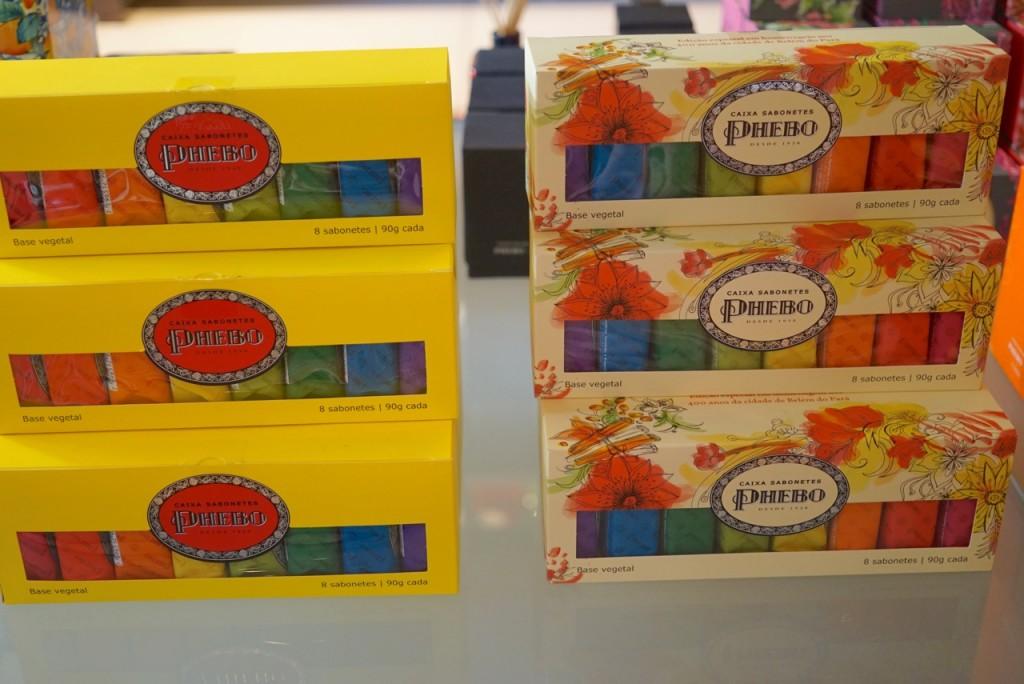 A nova embalagem dos sabonetes Phebo para comemorar os 400 anos de Belém do Pará onde nasceu a marca.