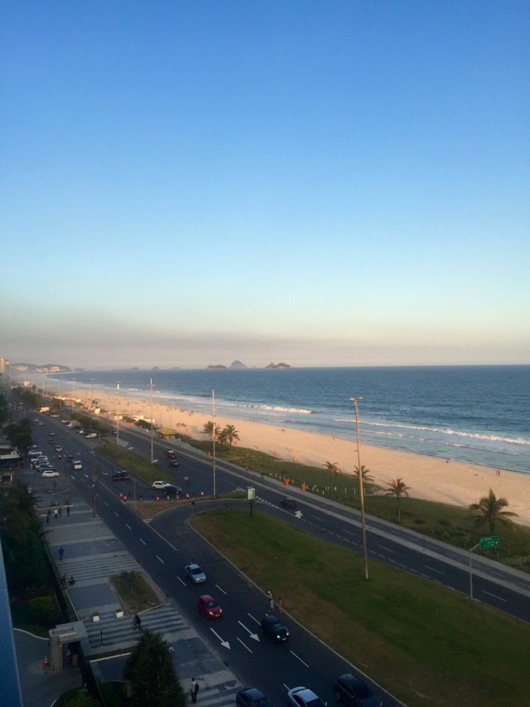 Fiquei no novo Grand Hyatt Rio de Janeiro na Barra