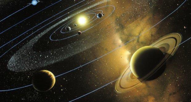 """Sabemos que o lindo planetinha que habitamos leva cerca de 365 dias para dar uma volta completa ao redor do Sol. Já o lindo planeta dos anéis, nomeado Saturno, o deus do Tempo na mitologia romana (na mitologia grega ele é Chronos), leva em torno de 29 anos para completar essa mesma """"voltinha""""."""