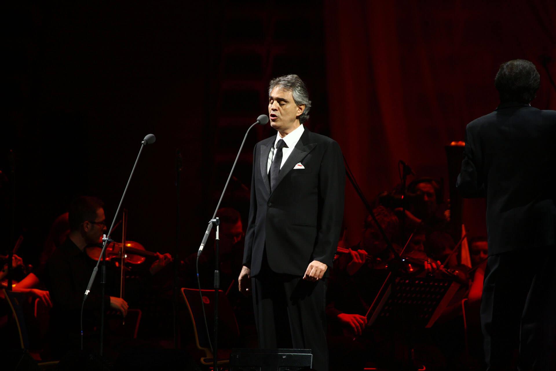 Bocelli em São Paulo com Cieli di Toscana!
