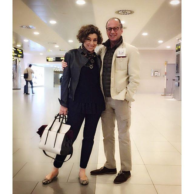 Partindo de Florença com o Roberto.