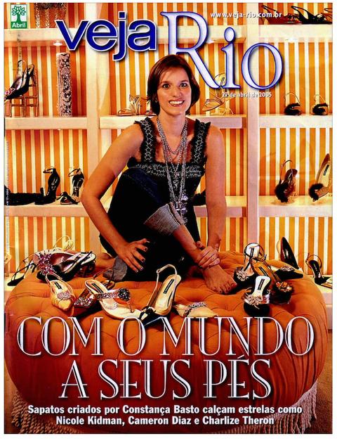 Sapatos, Amor e Itália por Constança Basto