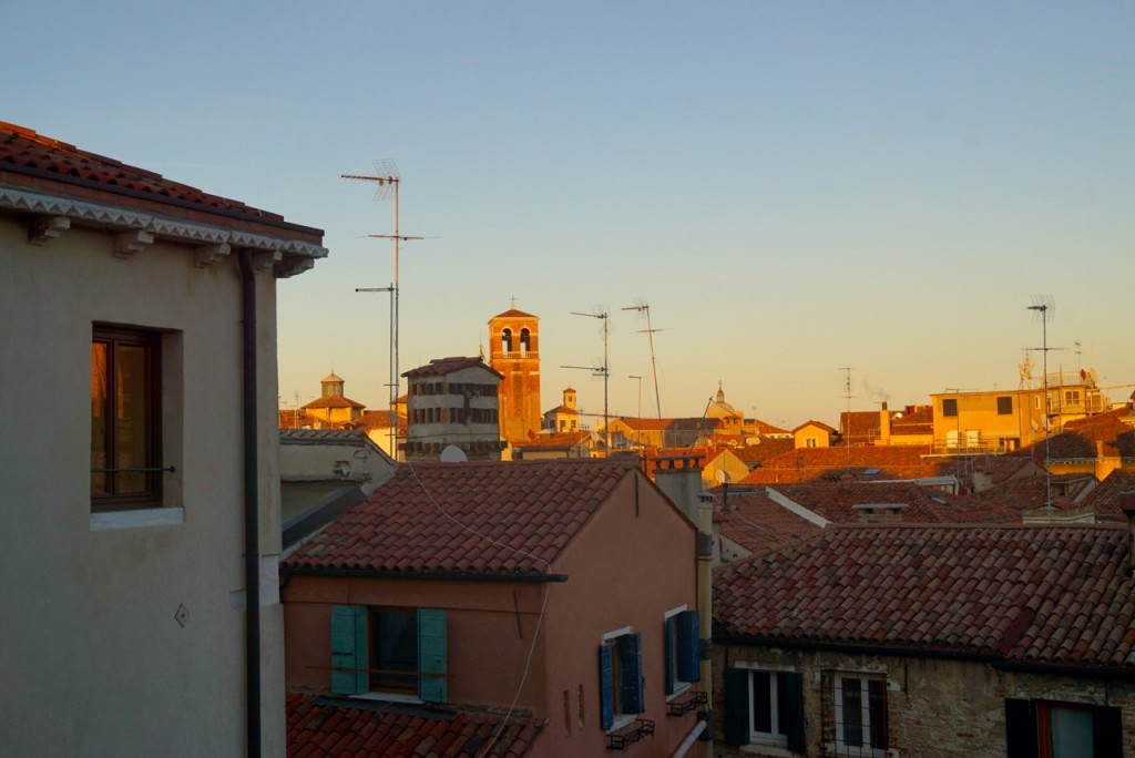 Os tetos de Veneza...