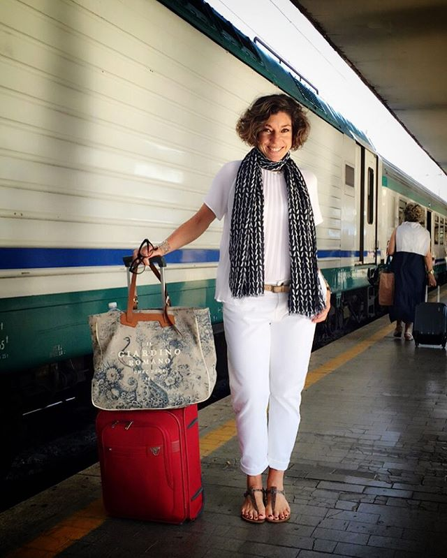 De Florença é a menos de duas horas de trem.