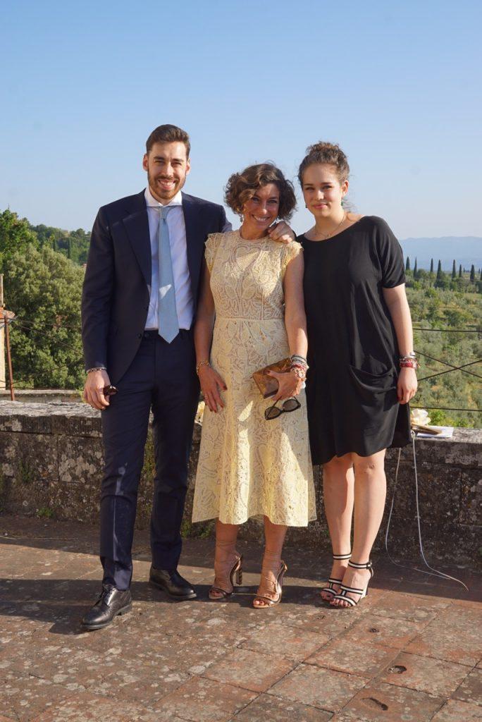 Com Cosimo e Allegra meus queridos!