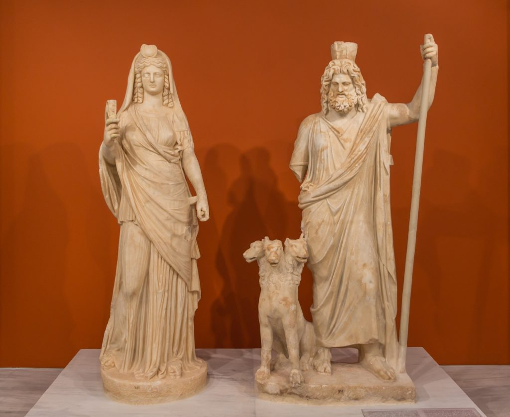 Hades Pluto_Serapis and Persephone...