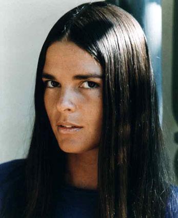 Meu sonho era ter cabelo liso como a Ali McGraw