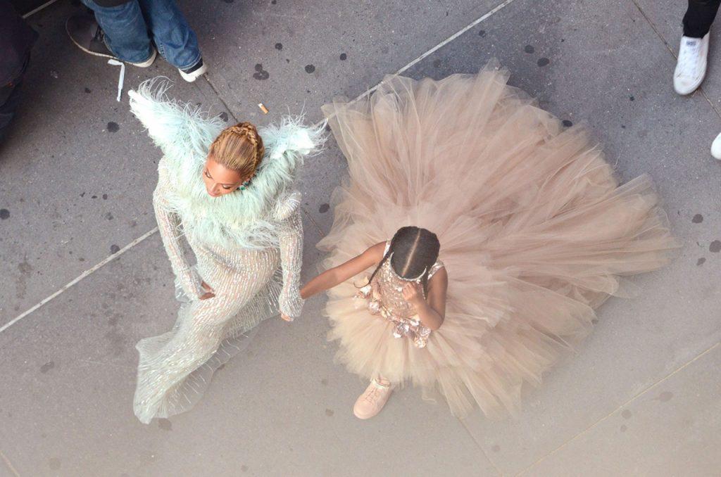 Beyoncé com Blue Ivy