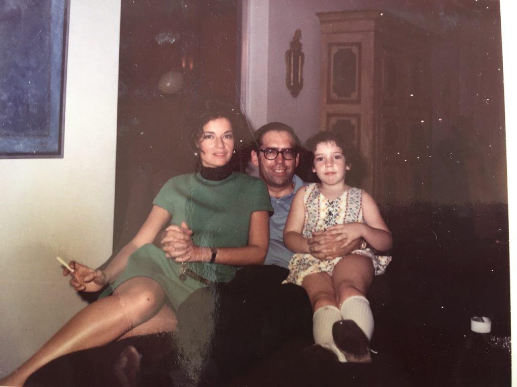 Consuelo e os pais