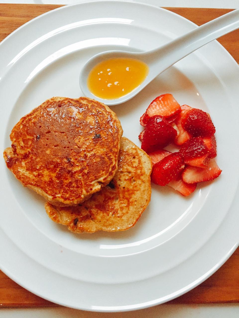 Café da manhã preguiçoso