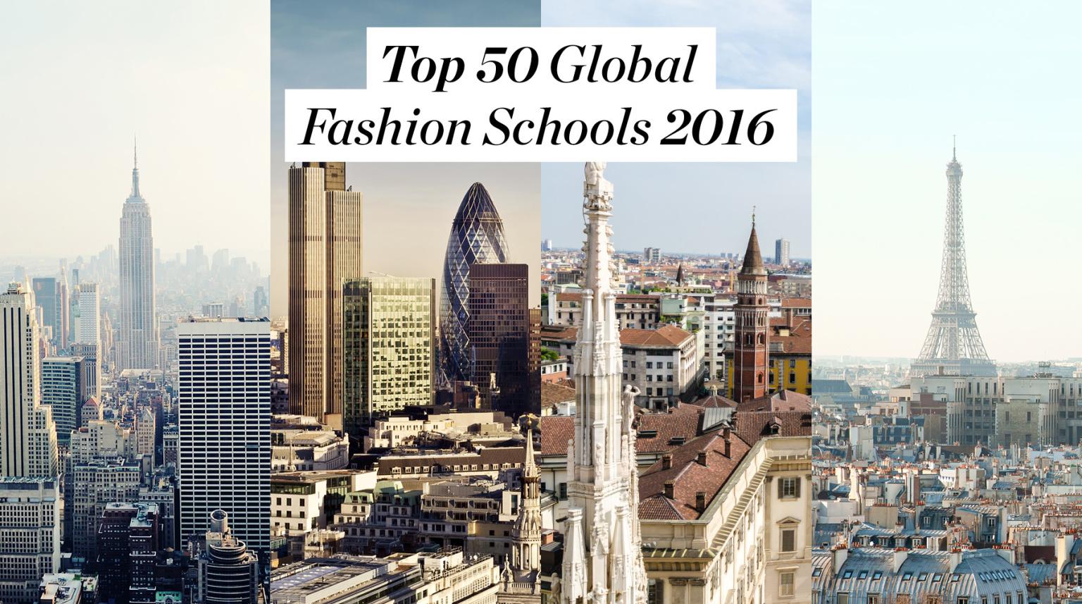 As melhores escolas de moda do mundo!