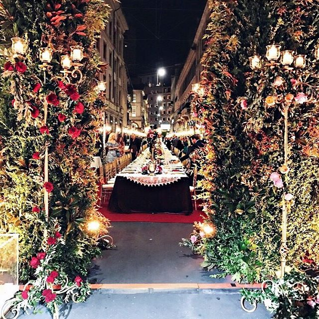 O jantar Dolce & Gabbana surreal para inaugurar sua nova loja em Milão!