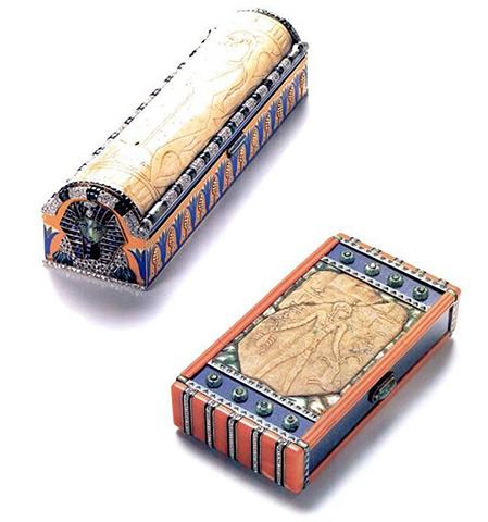 e o Egipto. Estas são bolsas Cartier