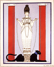woman-with-a-panther-by-george-barbier