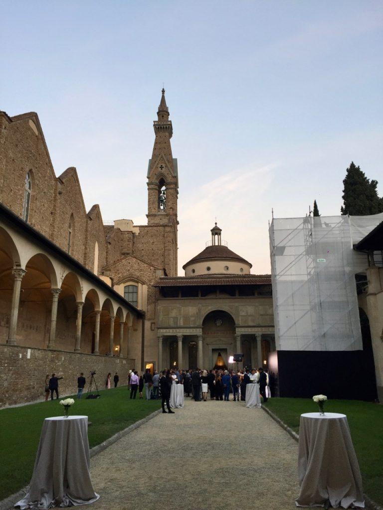 bocelli CFN Celebrity Fight Night Santa Croce Cappella Pazzi