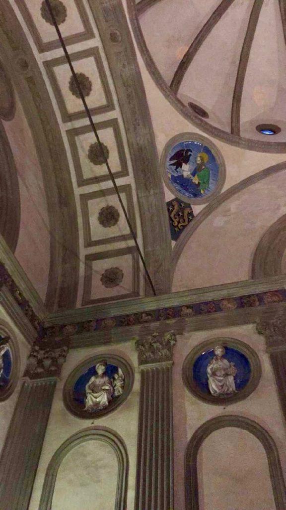 A belíssima Cappella Pazzi