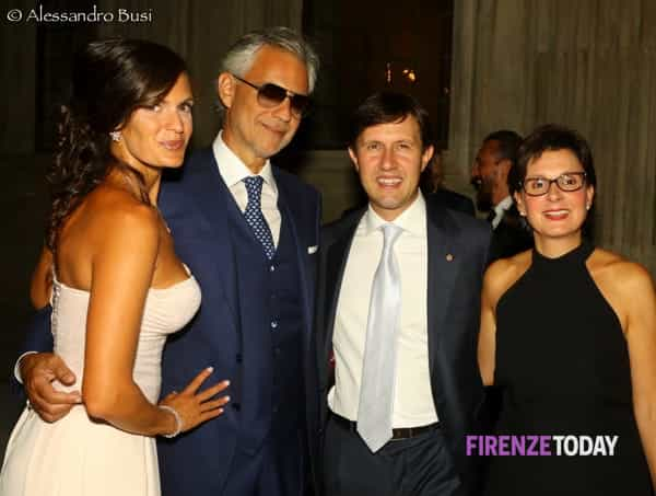 Com o prefeito de Florença
