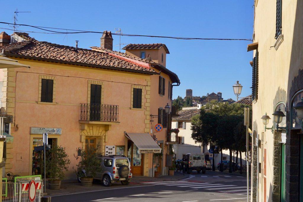 Chegamos em Panzano onde fica o açougue e restaurante de Dario Cecchini
