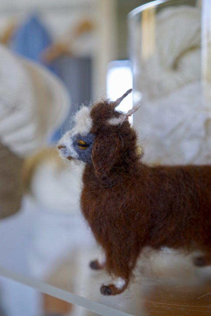 """Para ajudar o processo de grande custo criou o """"Adopt a Kid"""" onde pode-se alugar uma cabra a distância e ganha-se essa pequena reprodução."""
