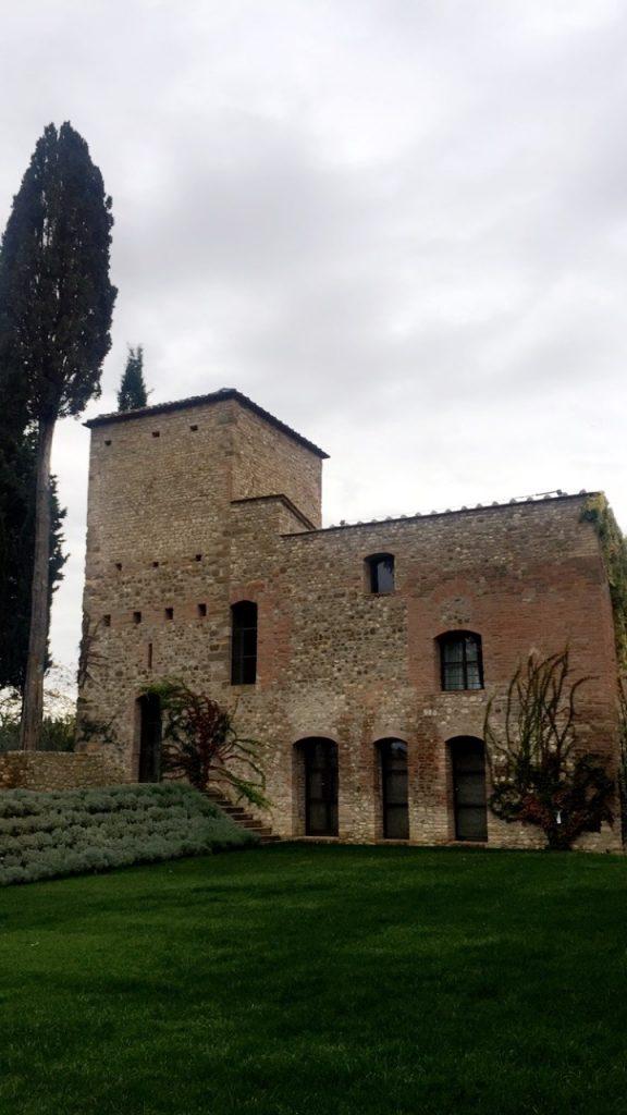 Uma torre do século XV