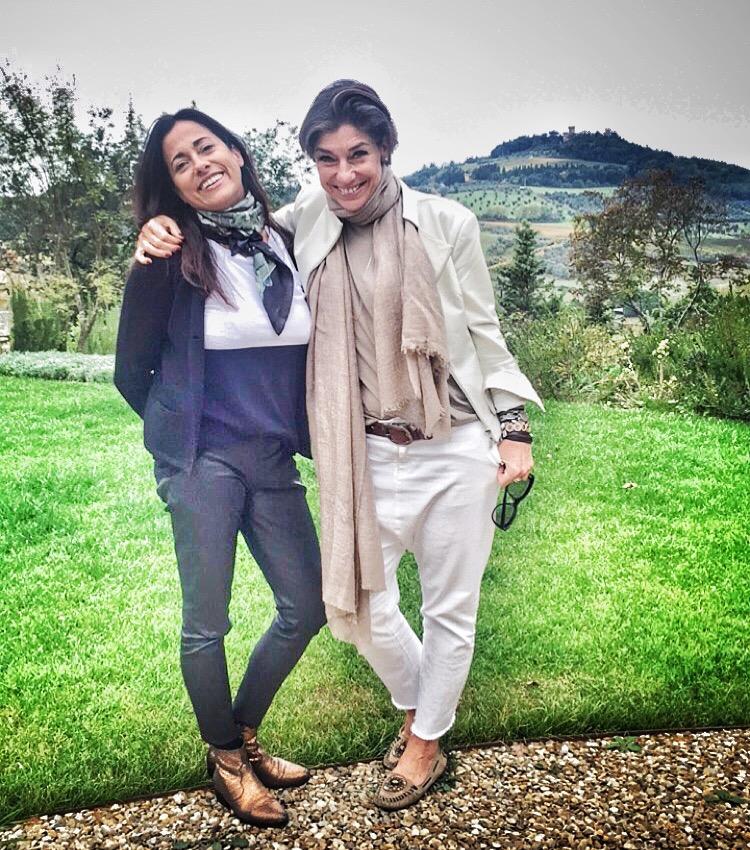 Com a querida amiga Vina Matos