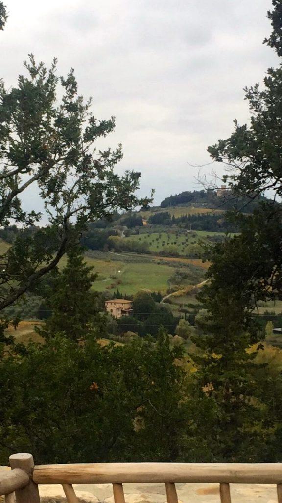 Na campanha Toscana