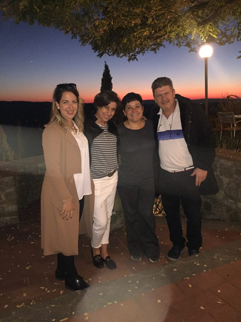 Babi, Renata e Sérgio