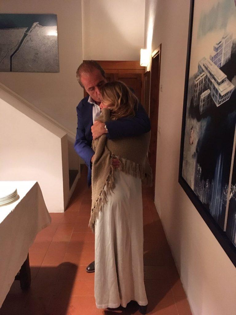 Gigi com sua filha Micol