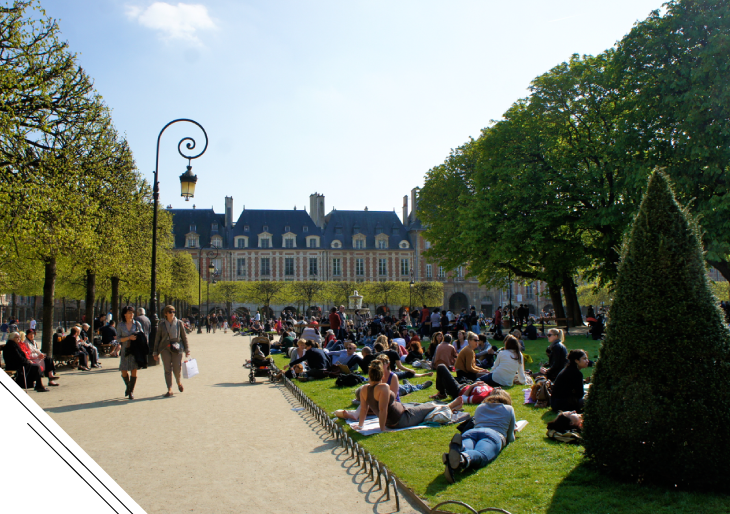 Descobrindo Paris através do Marais