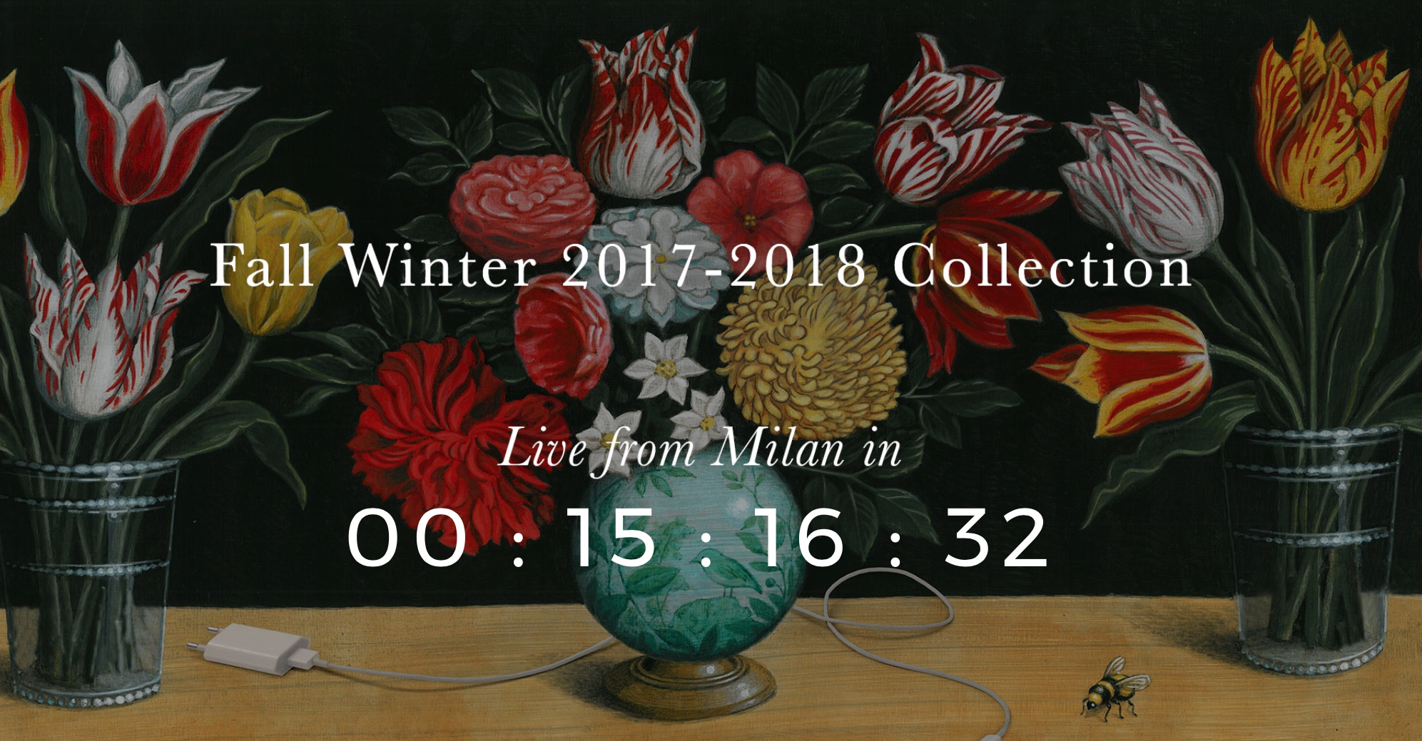 Live streaming Gucci show – Fall Winter 2017-2018