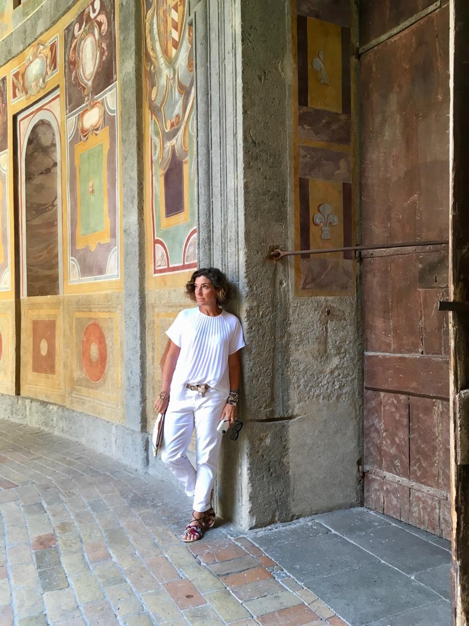 Palazzo Farnese em Caprarola, um palácio de conto de fadas!
