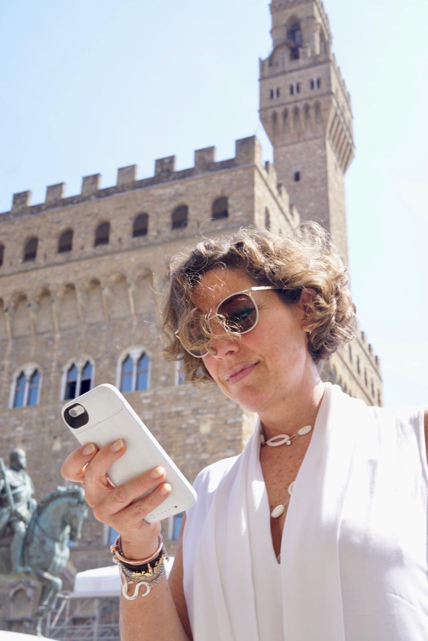 Uma tarde em Florença