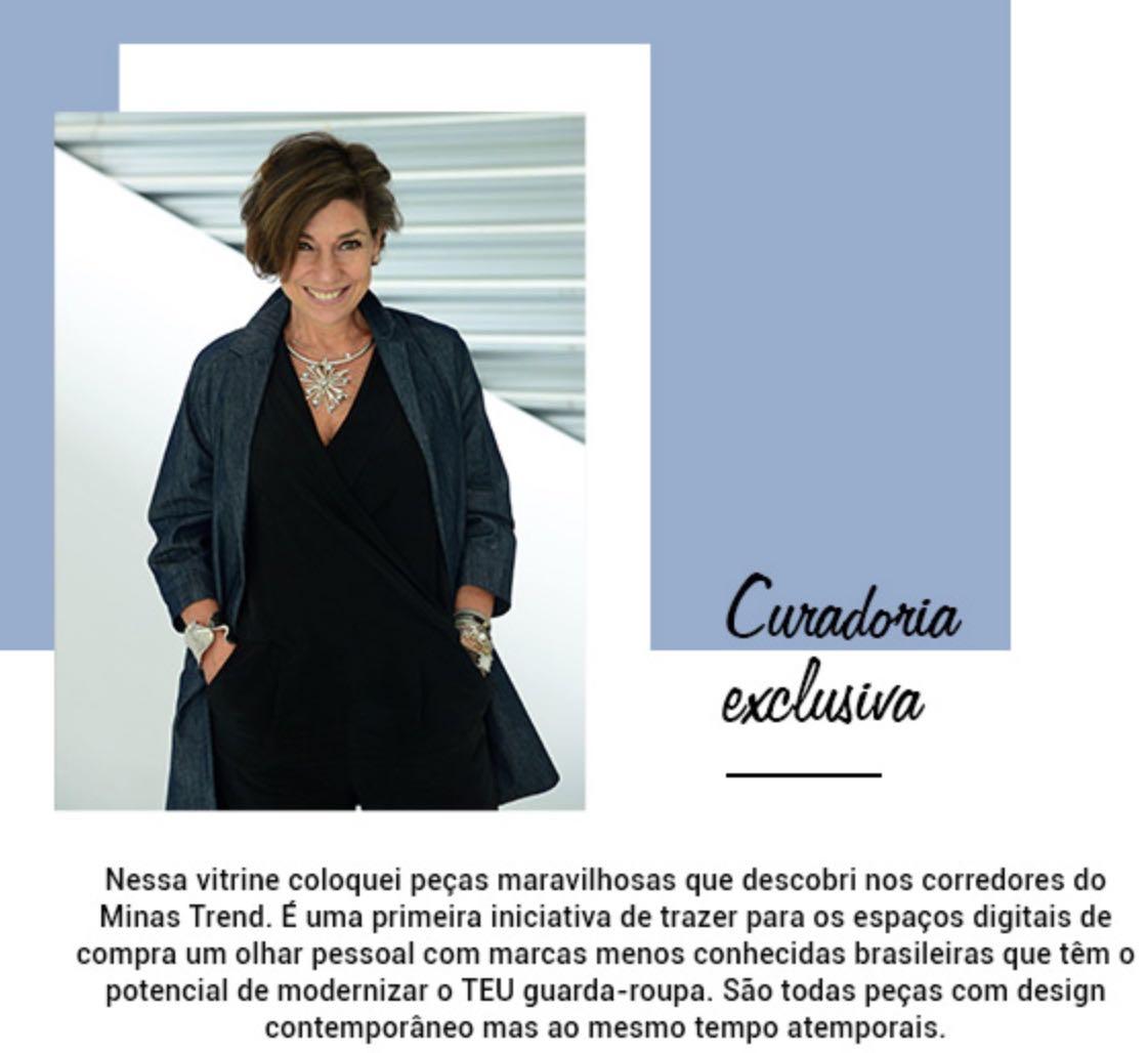 Corner Consuelo Blocker na O Que Vestir com o Minas Trend!