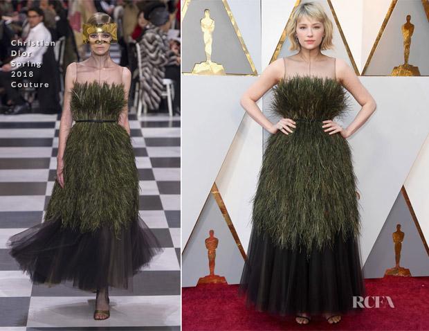 971137960424b Haley Bennett tem tantas consoantes duplas quanto erros na escolha deste  Christian Dior Couture… Sorry!
